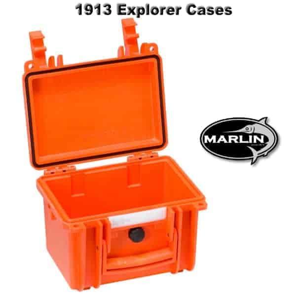 1913 Explorer Cases orange leer