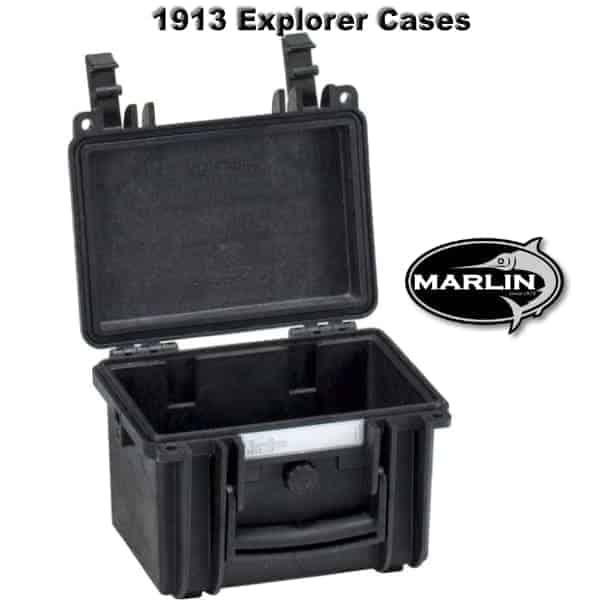 1913 Explorer Cases schwarz leer