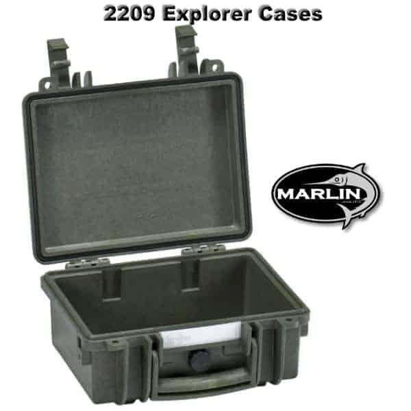 2209 Explorer Cases grün leer