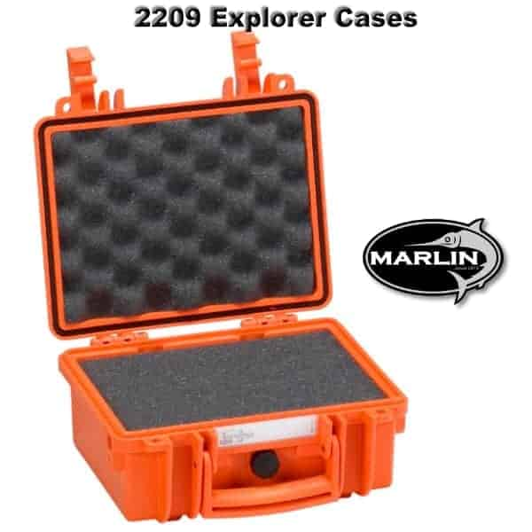 2209 Explorer Cases orange Schaumstoff