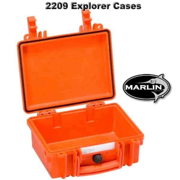2209 Explorer Cases orange leer