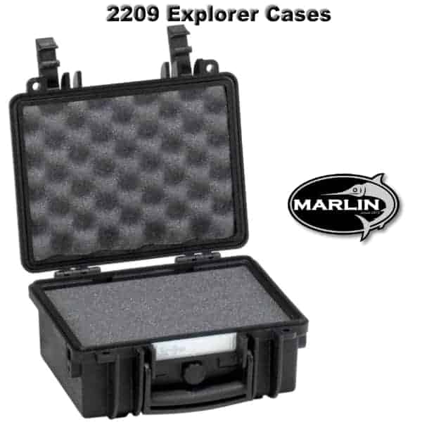 2209 Explorer Cases schwarz Schaumstoff