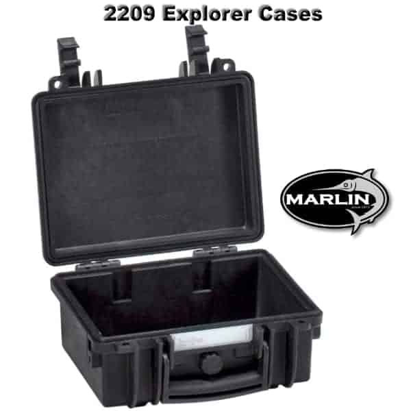 2209 Explorer Cases schwarz leer