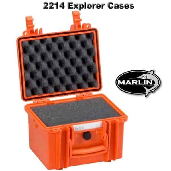 2214 Explorer Cases orange Schaumstoff