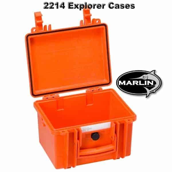 2214 Explorer Cases orange leer