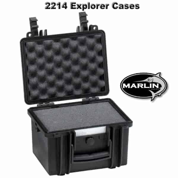 2214 Explorer Cases schwarz Schaumstoff