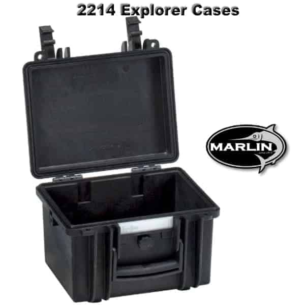 2214 Explorer Cases schwarz leer
