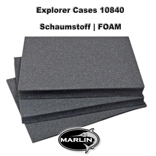 Explorer Cases 10840 FOAM, Schaumstoff