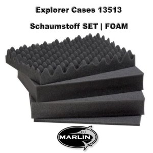 Explorer Cases 13513 Set FOAM