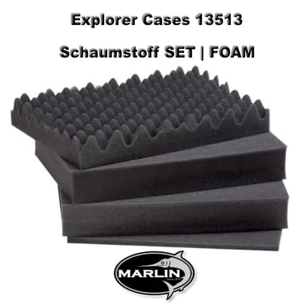 Explorer Cases 13513 Set FOAM