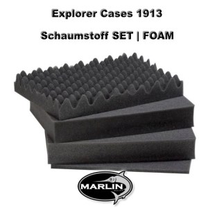 Explorer Cases 1913 Set FOAM