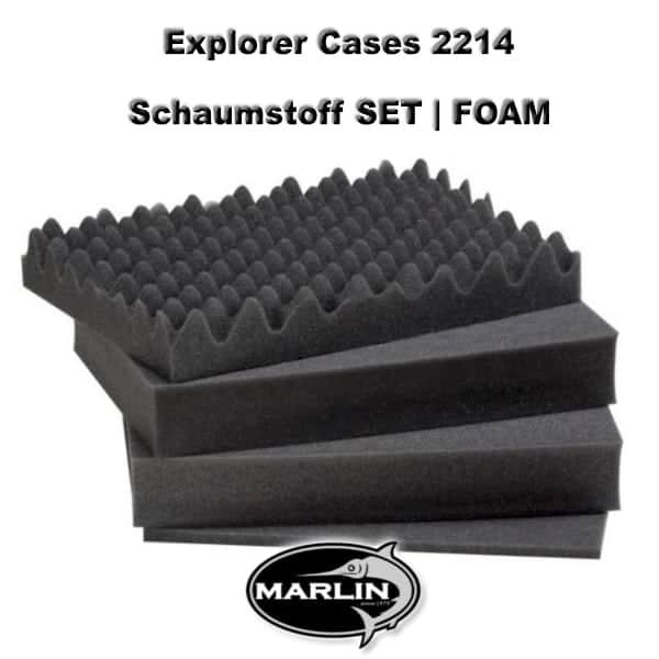 Explorer Cases 2214 Set FOAM