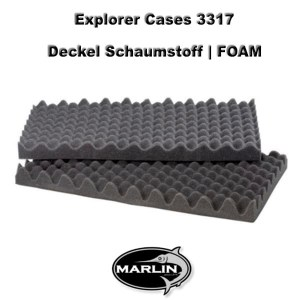 Explorer Cases 3317 Lid FOAM