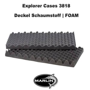 Explorer Cases 3818 Lid FOAM