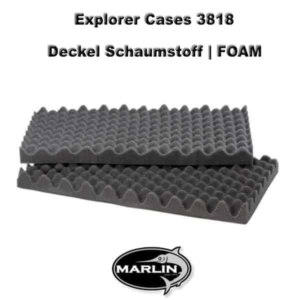 Explorer Cases 3818 Deckel FOAM