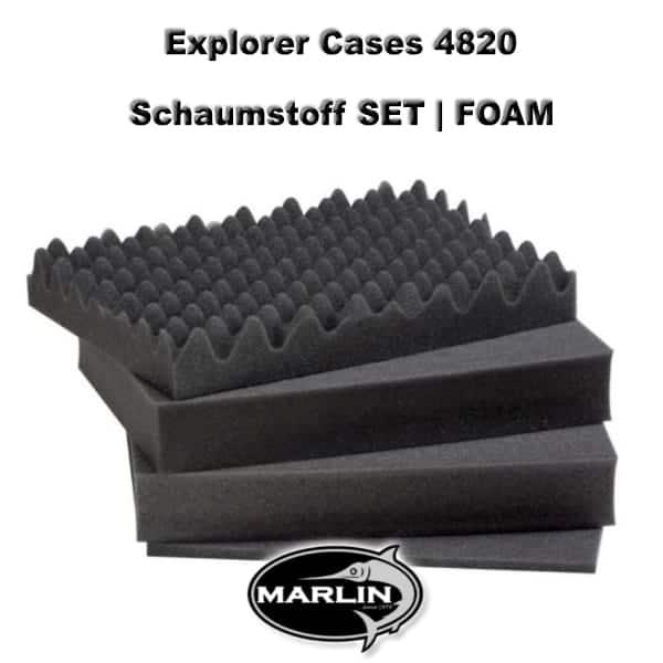 Explorer Cases 4820 Set FOAM