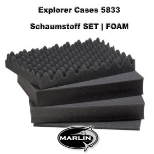 Explorer Cases 5833 Set FOAM