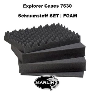 Explorer Cases 7630 Set FOAM