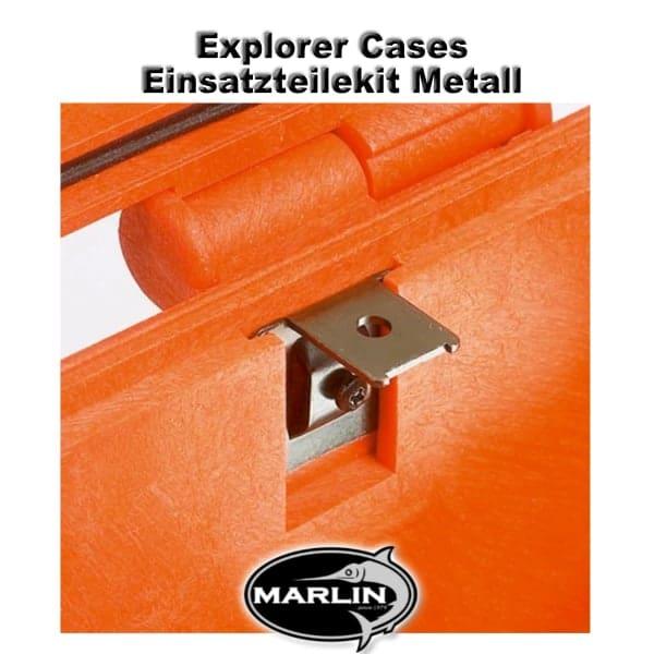 Explorer CasesEinsatzteilekit Metall