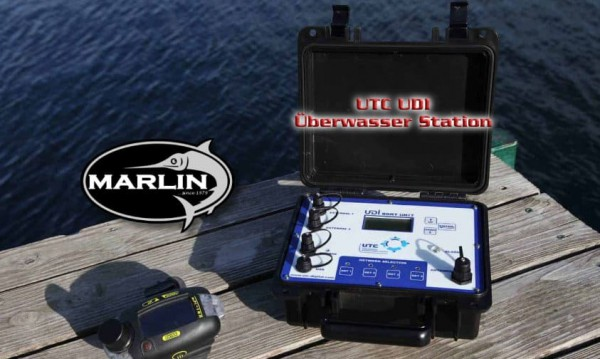 UTC UDI Überwasser Station Handmodell