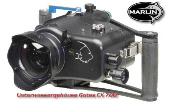 Unterwassergehäuse Gates CX 700 für Sony CX 700 (Marlin)