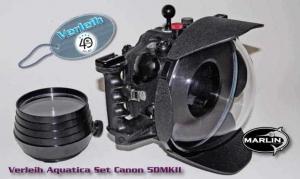 Marlin Service | Verleih Aquatica Set Canon 5DMKII mit 2 Ports