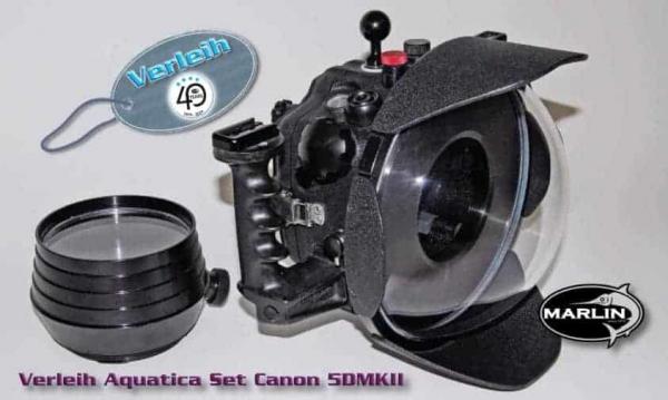 Verleih Aquatica Set Canon 5DMKII
