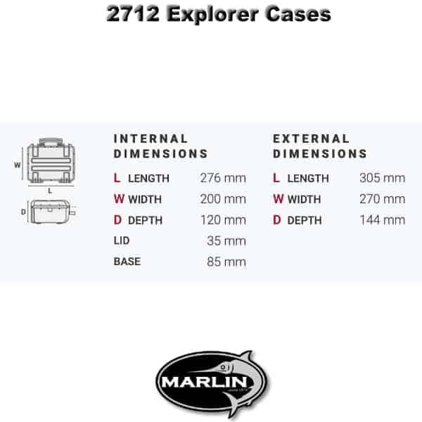 2712 Explorer Cases Dimensionen