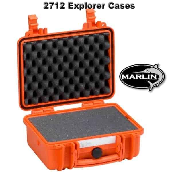 2712 Explorer Cases orange Schaumstoff