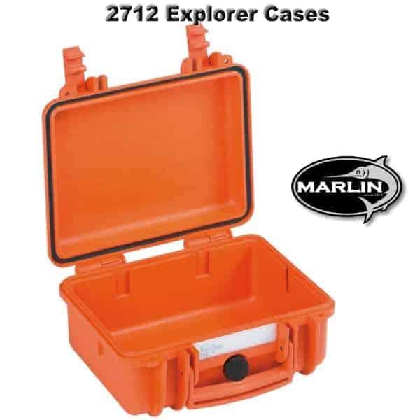 2712 Explorer Cases orange leer