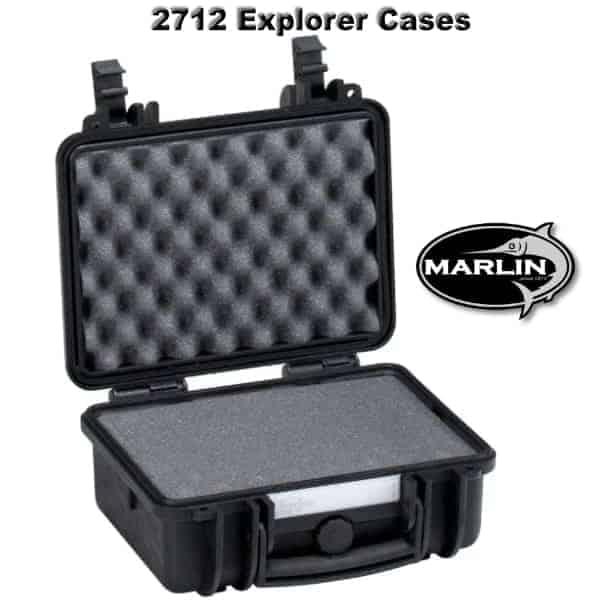 2712 Explorer Cases schwarz Schaumstoff