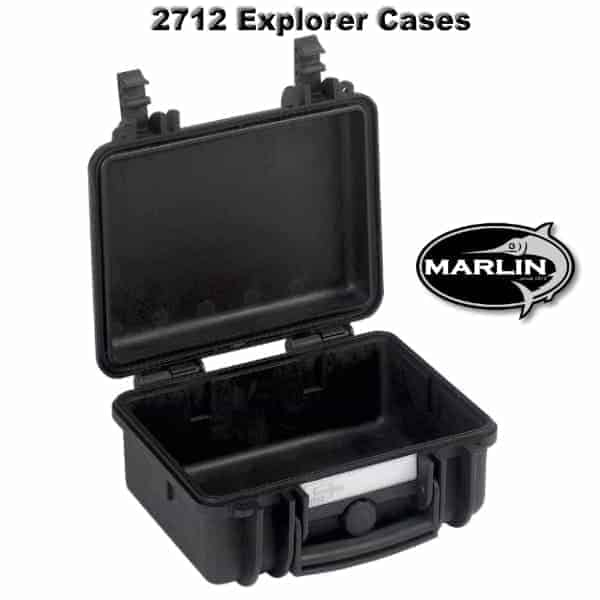 2712 Explorer Cases schwarz leer