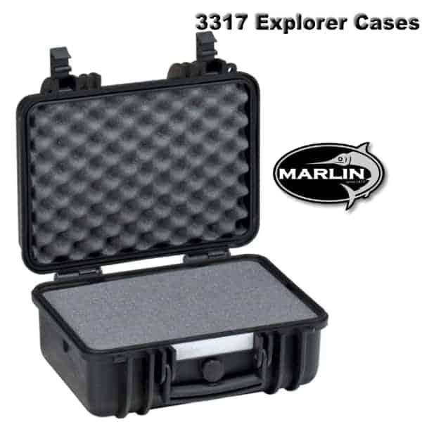 3317 Explorer Cases schwarz Schaumstoff