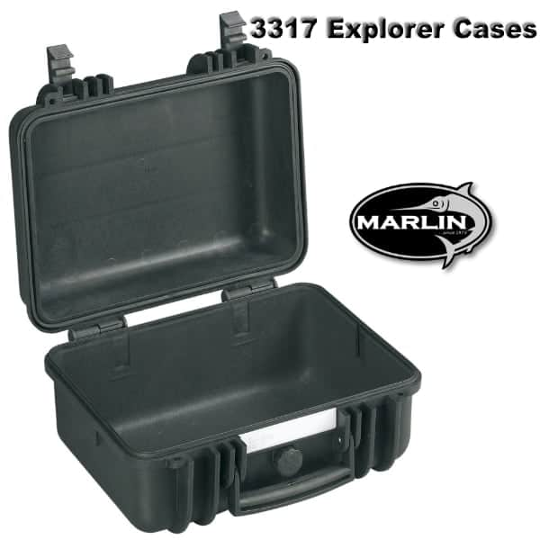 3317 Explorer Cases schwarz leer