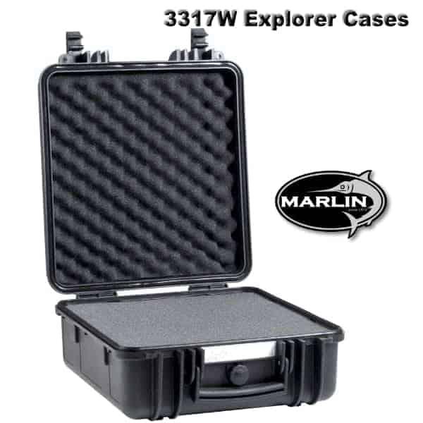 3317W Explorer Cases schwarz Schaumstoff