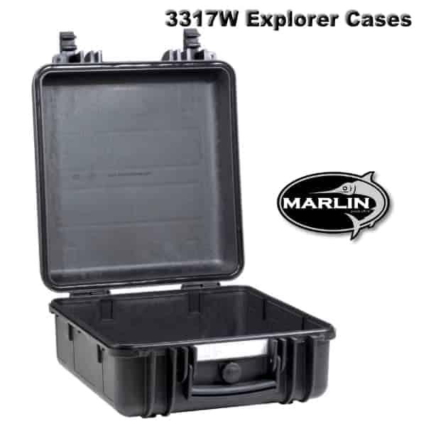 3317W Explorer Cases schwarz leer
