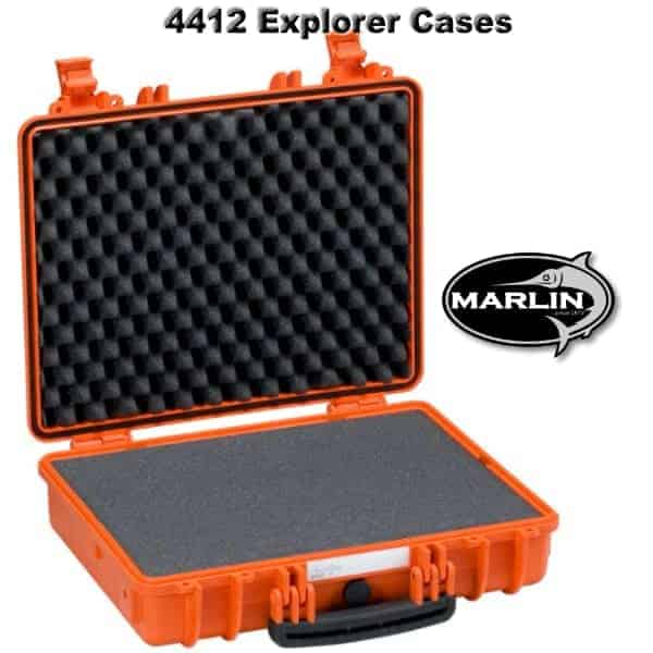 4412 Explorer Cases orange Schaumstoff