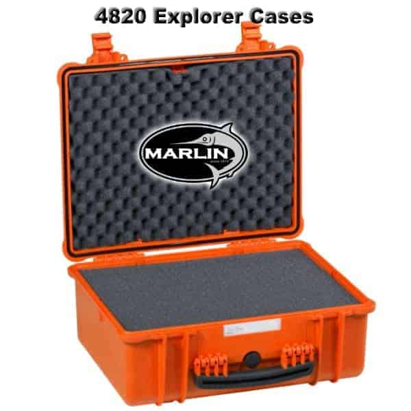 4820 Explorer Cases orange Schaumstoff