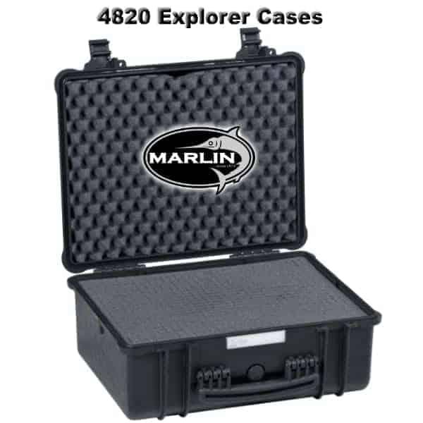 4820 Explorer Cases schwarz Schaumstoff