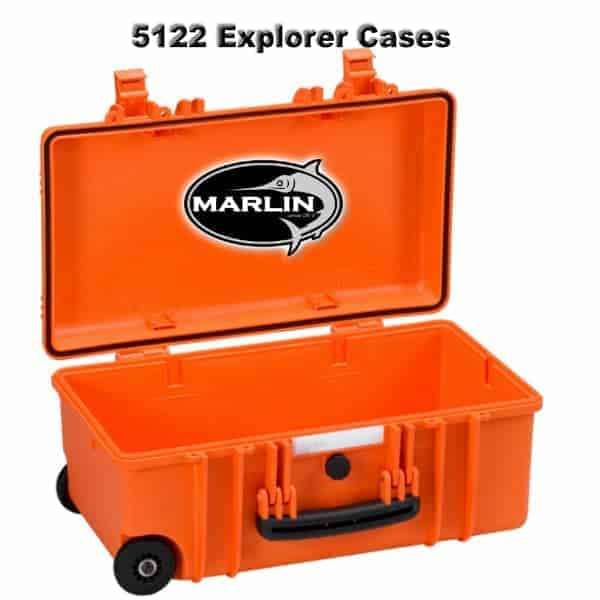 5122 Explorer Cases orange leer