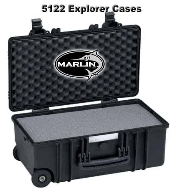 5122 Explorer Cases schwarz Schaumstoff