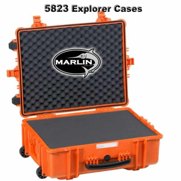 5823 Explorer Cases orange Schaumstoff