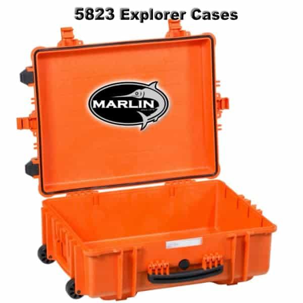 5823 Explorer Cases orange leer