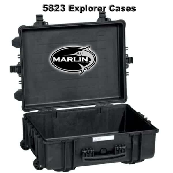 5823 Explorer Cases schwarz leer