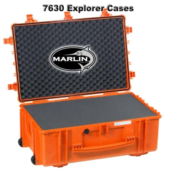 7630 Explorer Cases orange Schaumstoff