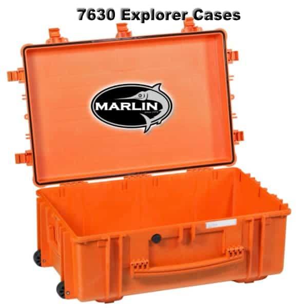 7630 Explorer Cases orange leer