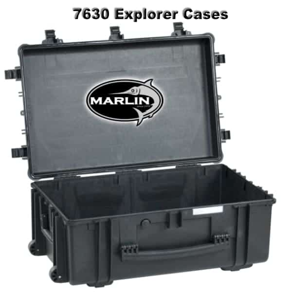 7630 Explorer Cases schwarz leer