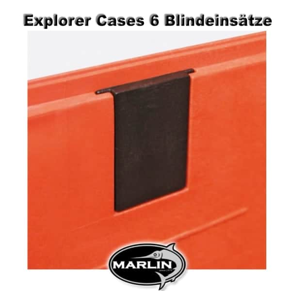 Explorer Cases 6 Blindeinsätze