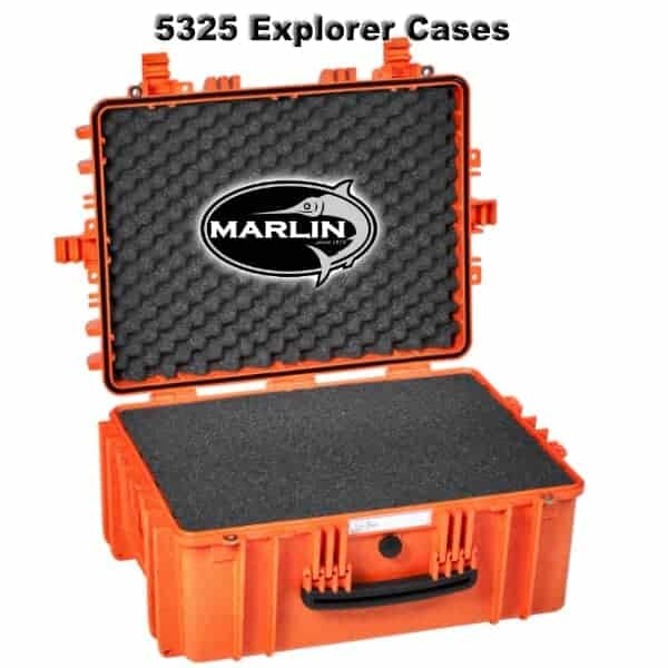 5325 Explorer Cases orange Schaumstoff