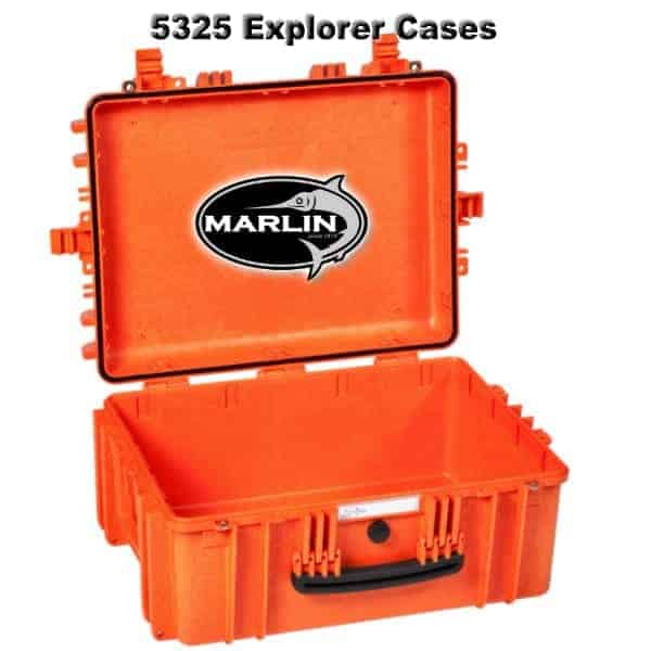 5325 Explorer Cases orange leer